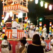 長沢盆踊り-川崎市多摩区