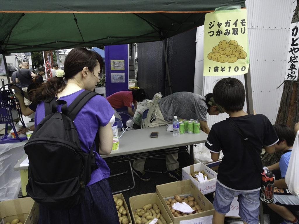 長沢商店会の七夕祭