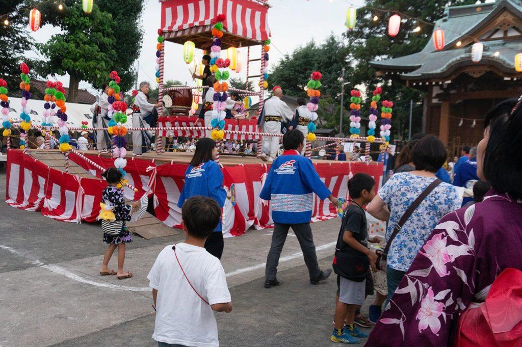 長沢納涼盆踊り大会