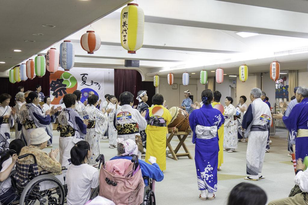 長沢 壮寿の里 夏祭り