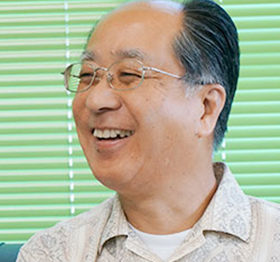 長沢自治会会長末吉一夫さん