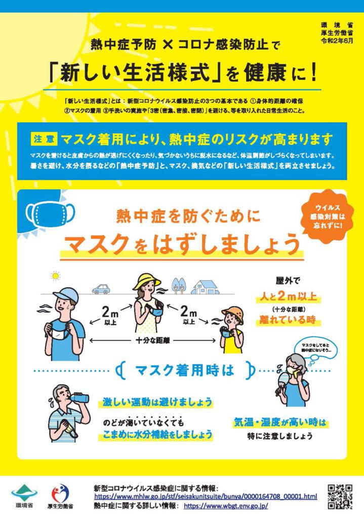らぶながさわ(川崎市)-熱中症予防